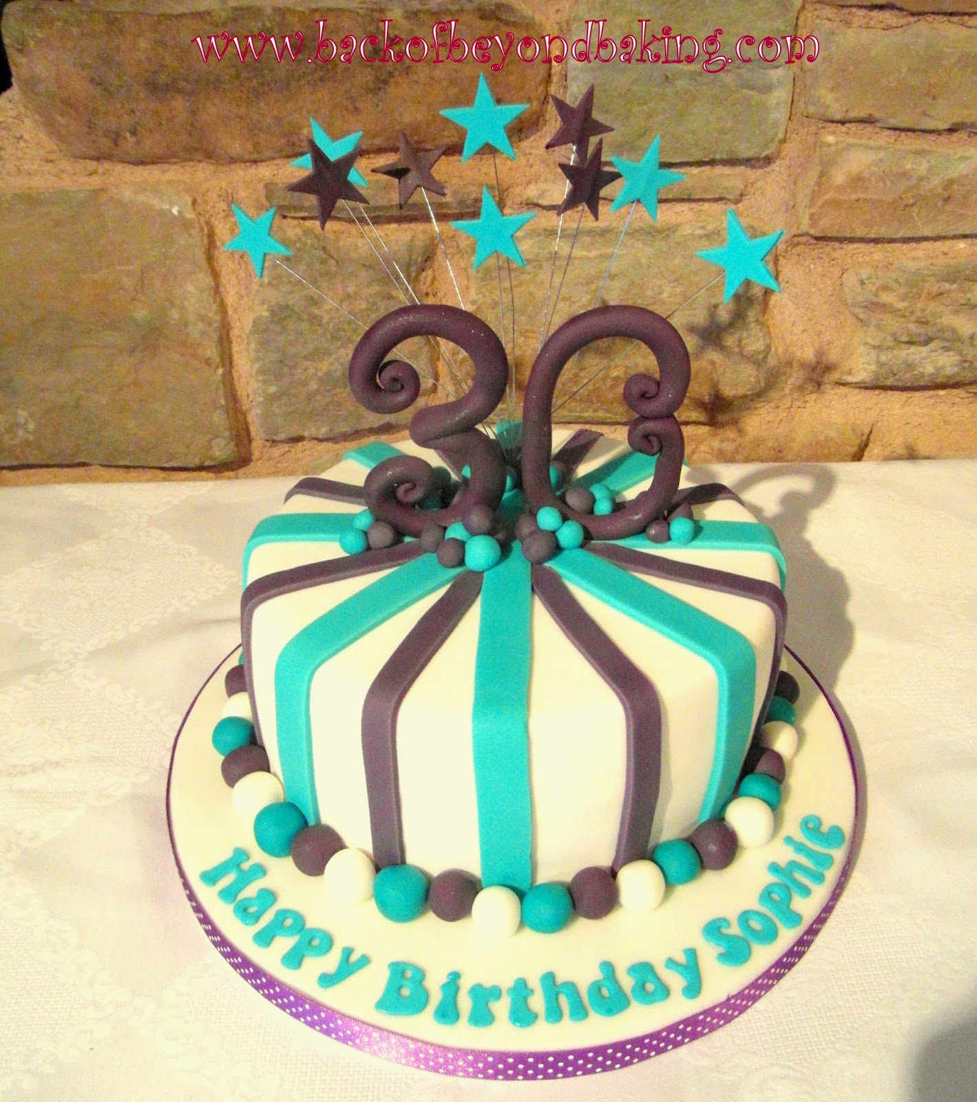 stars and stripes birthday cake