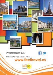 Catálogo de viajes de la mayorista FeelTravel 2017