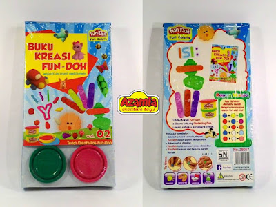 Fun-Doh Buku Kreasi Vol 02, fun doh indonesia, fun doh surabaya, distributor fun doh surabaya, grosir fun doh surabaya, jual fun doh lengkap, mainan anak edukatif, mainan lilin fun doh