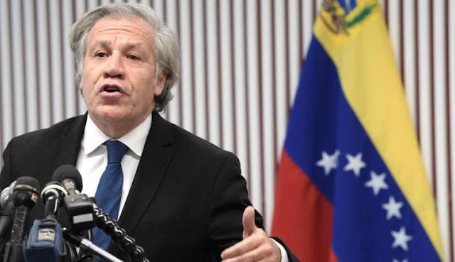 Luis Almagro quiere más sanciones contra Maduro