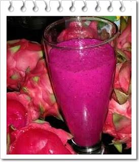 Resep jus buah naga dan manfaatnya untuk kesehatan