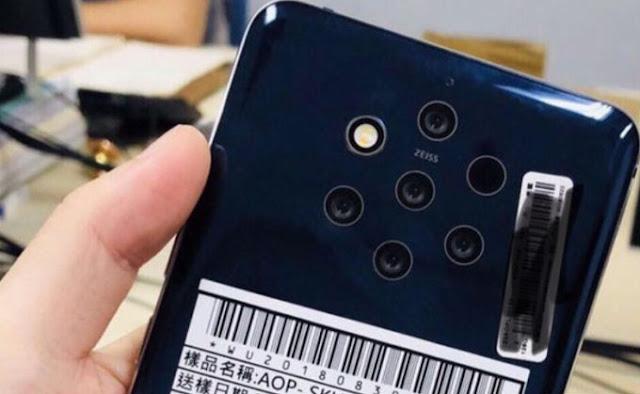 Nokia 9 (TA-1094) dengan Kamera Penta-Lens Menerima Sertifikasi MIIT; Mungkin Akan Segera Segera diluncurkan