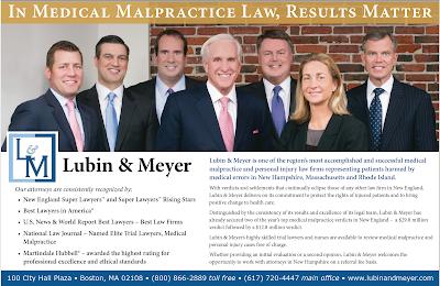 Lubin & Meyer in New Hampshire Bar News
