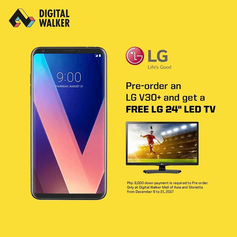 LG V30+ is now on pre-order at Digital Walker, priced at PHP 46,990!