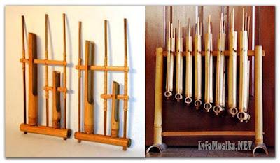 Alat Musik Tradisional Angklung ( Asal Daerah : Jawa Barat)