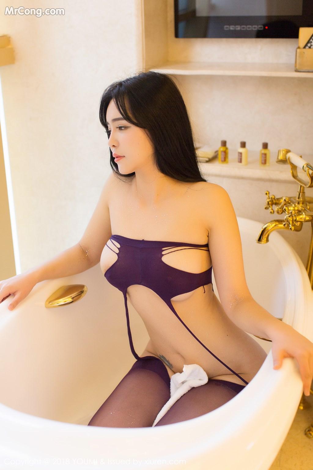 Image YouMi-Vol.124-Liu-Yu-Er-MrCong.com-028 in post YouMi Vol.124: Người mẫu Liu Yu Er (刘钰儿) (41 ảnh)