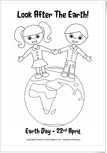 http://www.activityvillage.co.uk/earth-day-colouring-pages