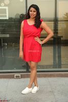 Shravya Reddy in Short Tight Red Dress Spicy Pics ~  Exclusive Pics 003.JPG