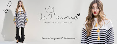 Sapphire Je t'aime Kurta Valentines Day Collection 2017