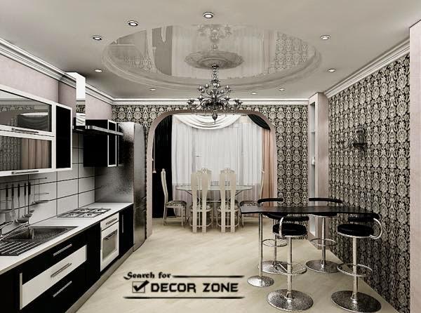 stretch false ceiling designs for kitchen
