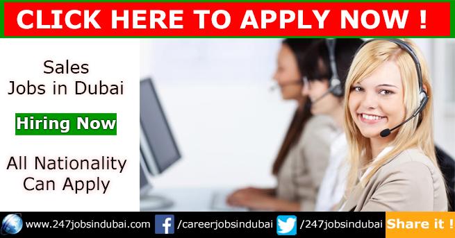 Walk in Interview in Dubai for Sales Jobs