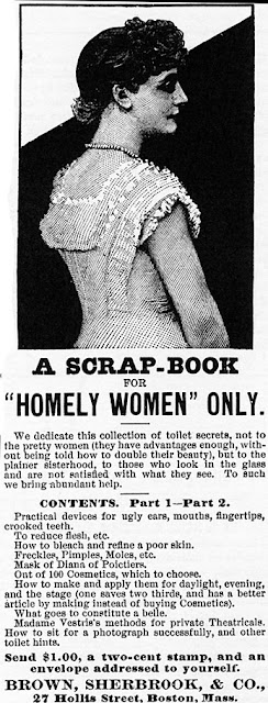 A scrapbook for homely women only