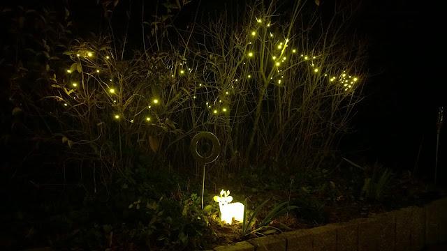 Pünktlich zum ersten Advent habe ich die Beleuchtung noch installiert (c) by Joachim Wenk