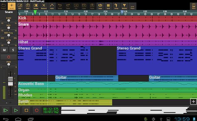 Audio Evolution Mobile Studio v4 9 0 APK - link
