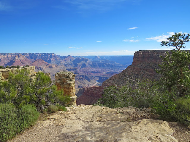 The suggestive sights at Moran Point, Grand Canyon