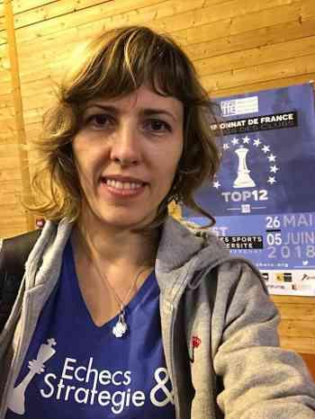 Une des grandes favorite du championnat de France Féminin d'échecs rapide à Angoulême, Tatiana Dornbusch - Photo © Chess & Strategy