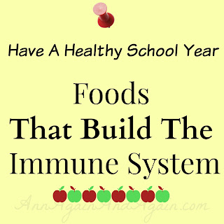 Foods The Build The Immune System - Ann Again and again.com