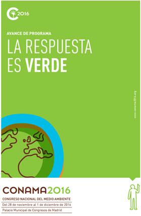 Congreso Nacional de Medio Ambiente 2016 -CONAMA- en el Palacio Municipal de Congresos
