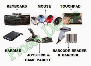 Contoh gambar Input Device