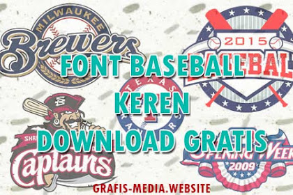 12 Font Baseball Gratis Keren Untuk Logo