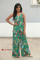 Actress Eesha Latest Pos in Green Floral Jumpsuit at Darshakudu Movie Teaser Launch .COM 0014.JPG