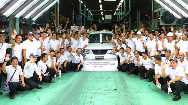 Mitsubishi Adventure Final Production Unit