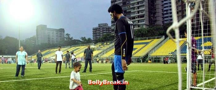 Azad Rao Khan, Abhishek Bachchan, Bollywood Celebs play football match for Aamir khan's daughter Ira Khan