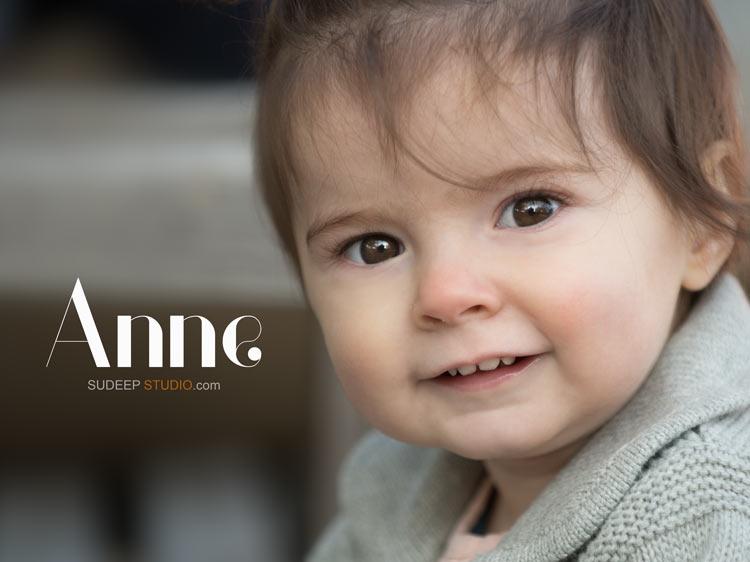 First year Baby Birthday Family Portrait Photography - Ann Arbor Photographer Sudeep Studio.com