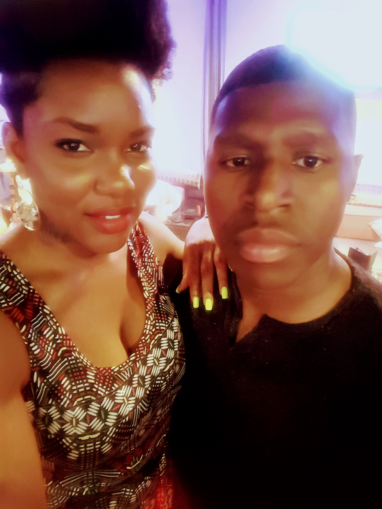 Date Night Afro