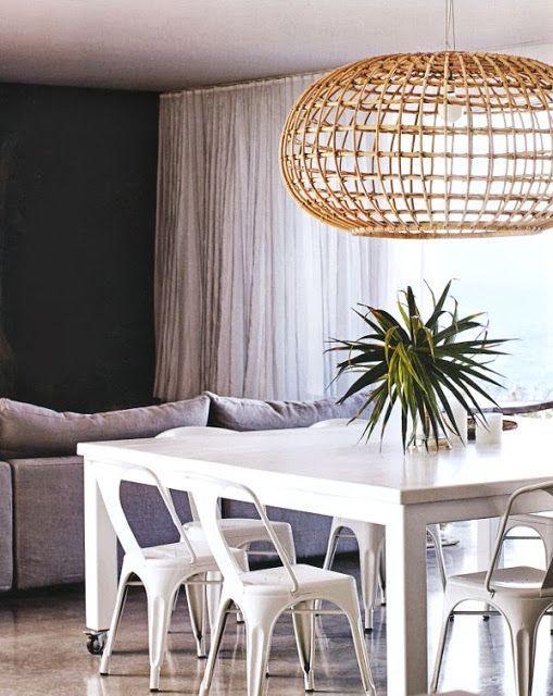 l 39 atelier du 23 abat jour en osier rotin ou en palmier. Black Bedroom Furniture Sets. Home Design Ideas