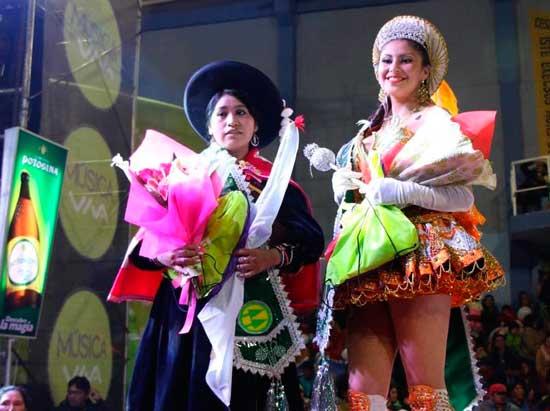 El Carnaval Minero tiene a su reina y ñusta
