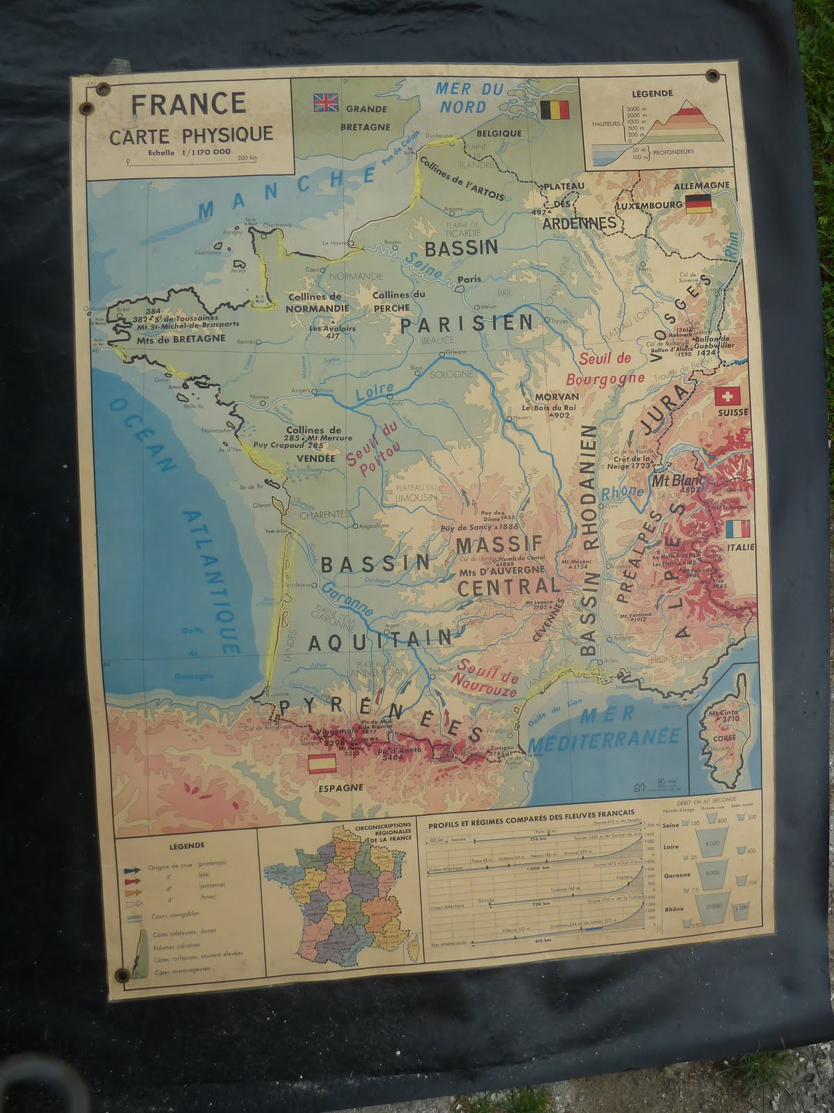 Map Of France Poster.Vintage French Posters Botany Animals Anatomy Old World Maps From