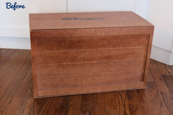 thrift store box