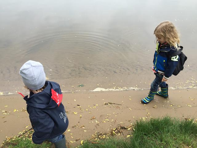 Urlaub mit zwei Kleinkindern - Weserstrand