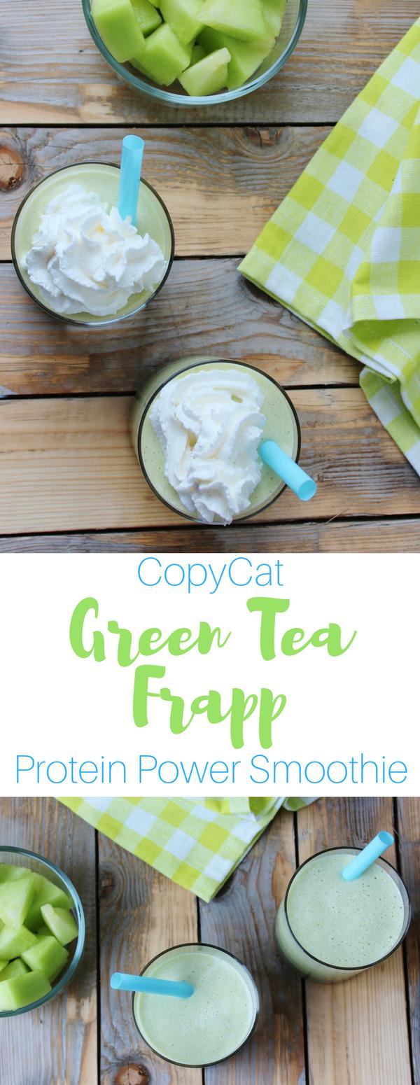 Copy Cat Green Tea Frapp Protein Power Smoothie