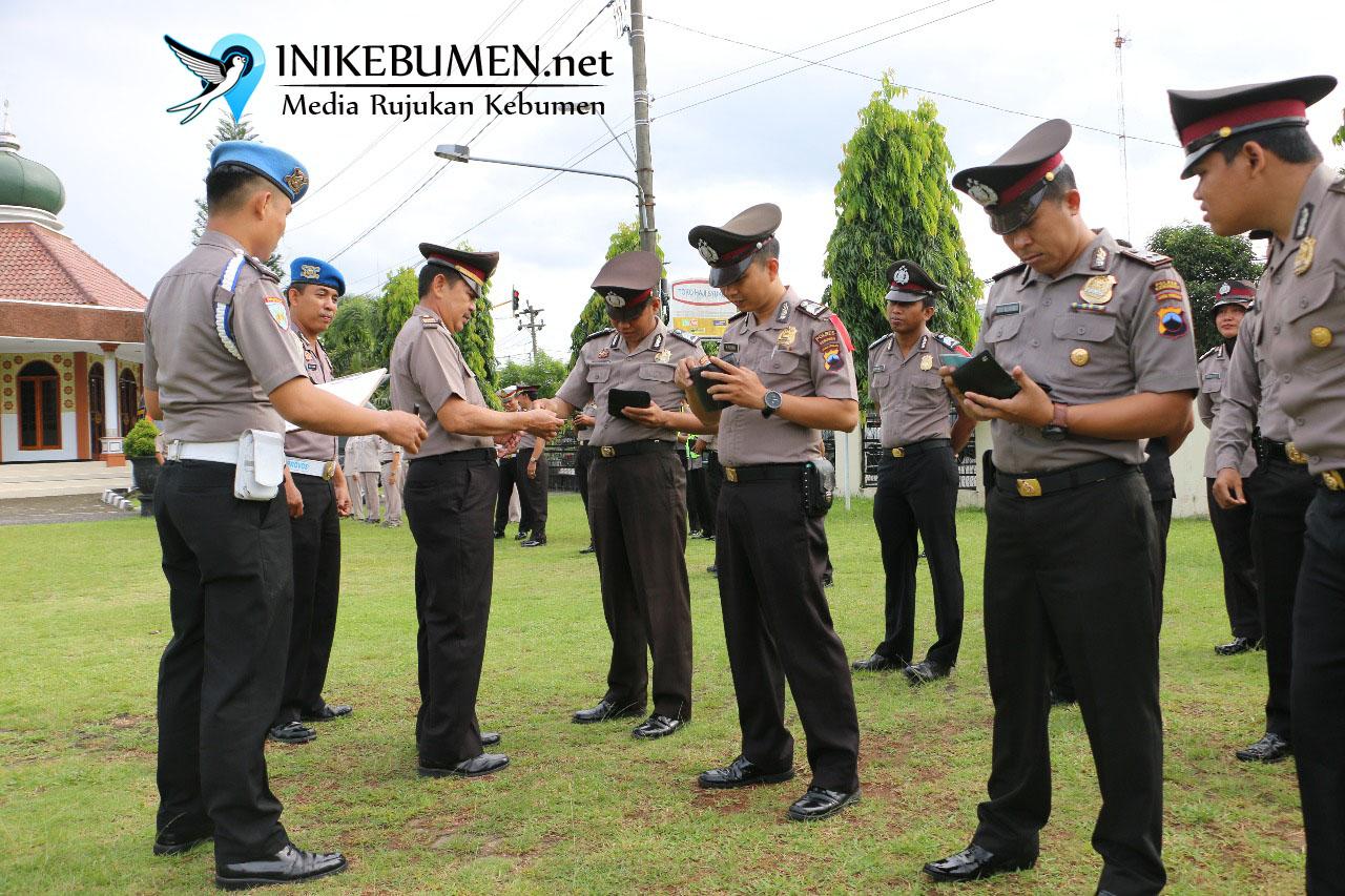 Mendadak Diperiksa, Ada Polisi Polres Kebumen Berambut Gondrong