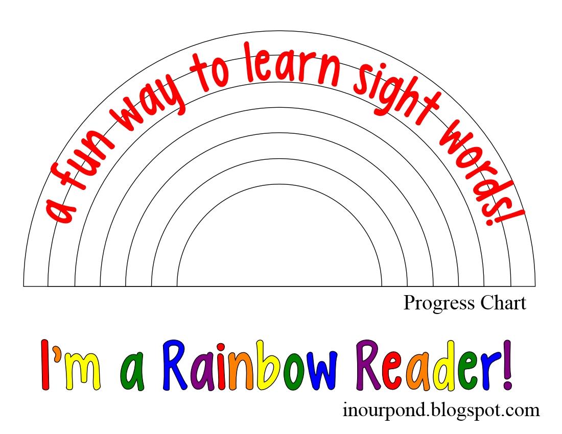 Be A Rainbow Reader
