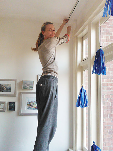 tassels ophangen