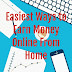 Easiest Ways to Earn Money Online From Home
