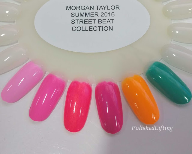 neon nail polish swatches