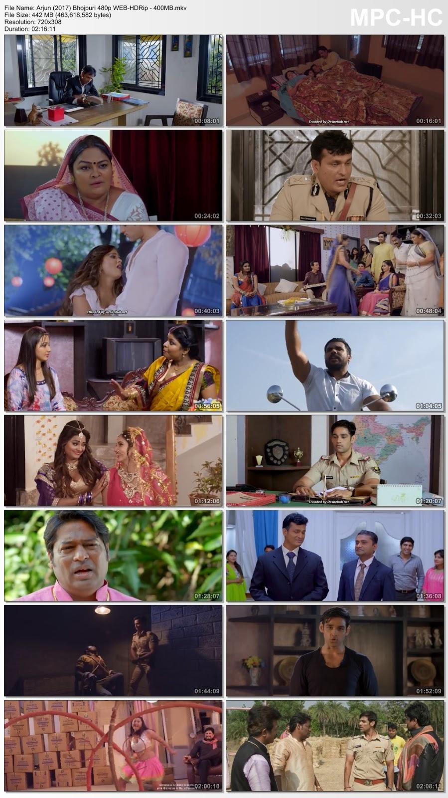 Arjun (2017) Bhojpuri 480p WEB-HDRip – 400MB Desirehub