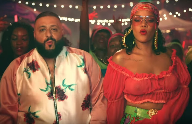 "Still from DJ Khaled's New Song ""Wild Thoughts"" ft Rihanna and Byson Tiller"