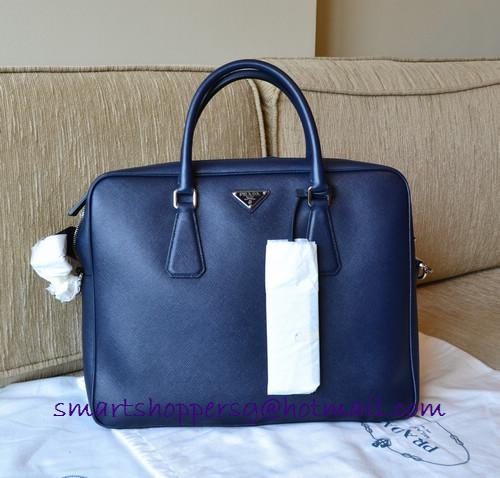 b5d37deb823452 Queenie's bag boutique: PRADA VA0891 Men's travel briefcase