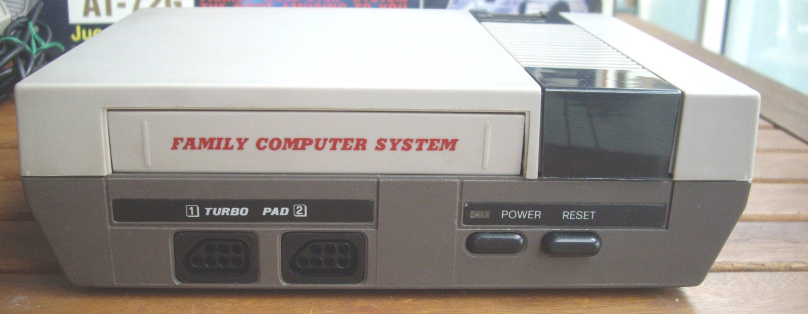 Retro Ordenadores Orty Consola Family Computer System Action Set