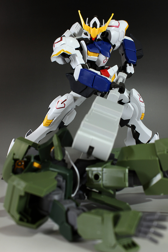 GUNDAM GUY: 1/100 Gundam Barbatos 6th Form - Review by Hobby no Toriko