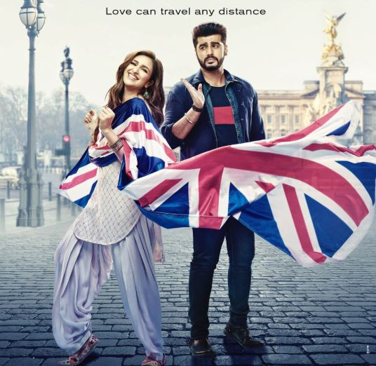 Namaste England First Look Poster   Arjun Kapoor and Parineeti Chopra