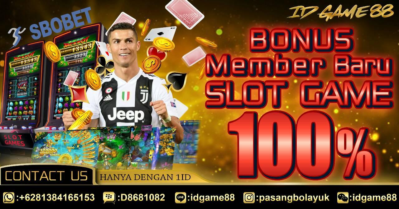 Bonus SLOT Online 100%