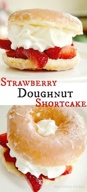 Strawberry Doughnut Shortcake