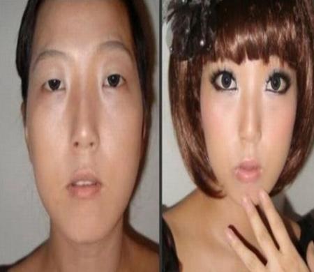 Maquiagem jovial