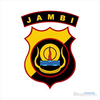 Polda Jambi Logo vector (.cdr)